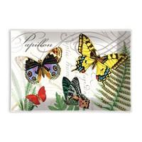 Papillon Rectangular Glass Soap Dish