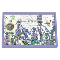 Lavender Rosemary Decoupage Wooden Vanity Tray