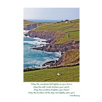 Irish Landscape Get Well Card