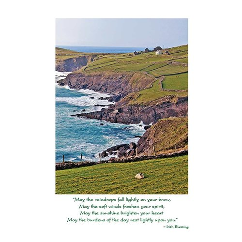Irish Landscape Get Well Card