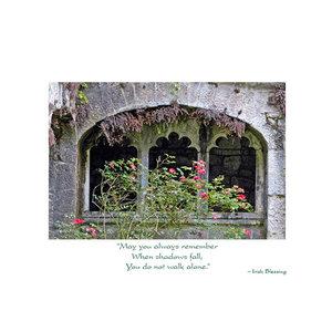 Irish Abbey Thinking of You Card