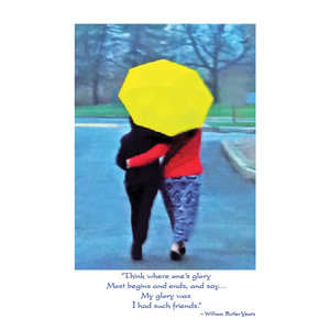 Yeats Friendship Card
