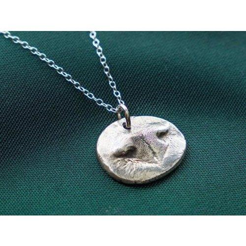 Custom Pet Nose Pendant Gold/Silver