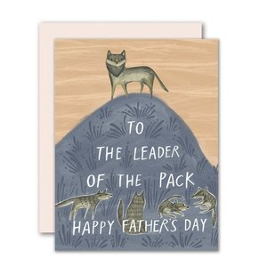 Leader of the Pack Father's Day Card
