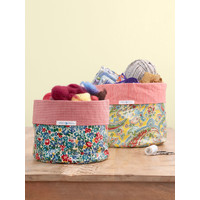 Arts and Crafts Basket Set of 2