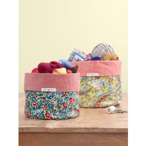 April Cornell Arts and Crafts Basket Set of 2