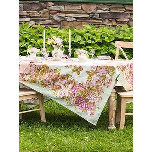 April Cornell Spring Gathering Vintage Tablecloth Square