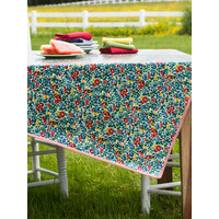 Primary Blooms Oilcloth Square