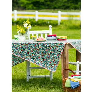 April Cornell Primary Blooms Oilcloth