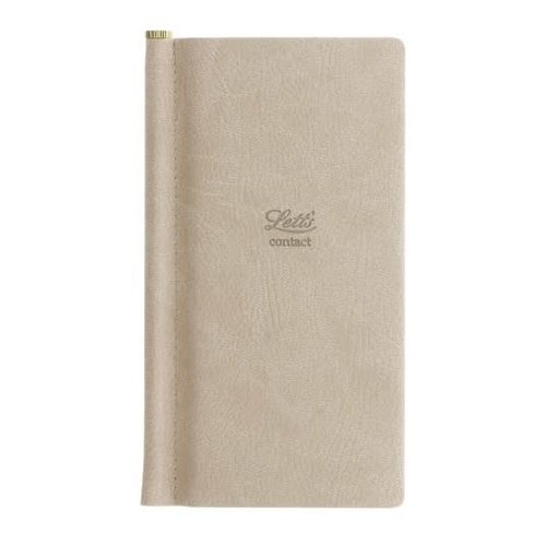 Letts of London Origins Pocket Address Book Stone