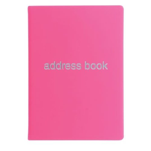 Letts of London Dazzle A5 Address Book Pink
