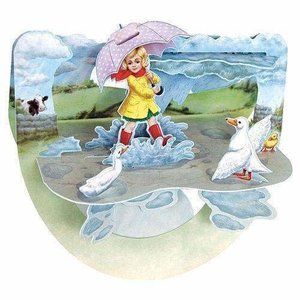 Santoro London Popnrock Puddles Card