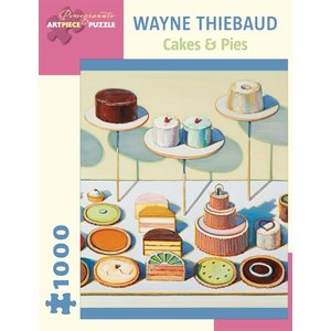 Pomegranate Wayne Thiebaud Cakes and Pies Puzzle