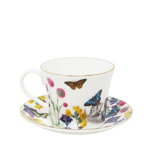 Equinox Breakfast Cup and Saucer