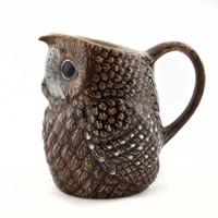 Quail Tawny Owl Small Jug
