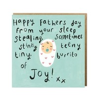 Burrito of Joy Father's Day Card