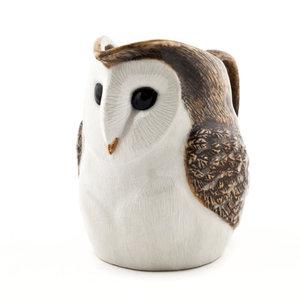 Quail Ceramics Quail Barn Owl Large Jug