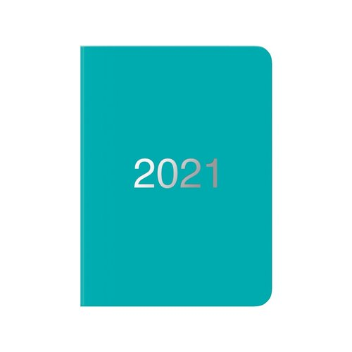 Letts of London Turquoise Dazzle Diary 2020-2021