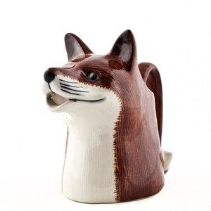 Quail Ceramics Quail Fox Jug Large