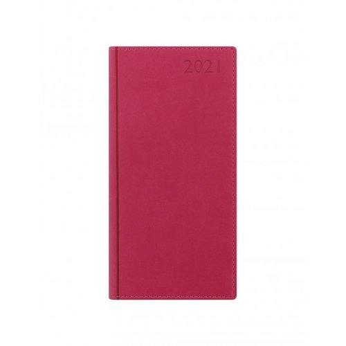 Letts of London Verona Slim Week to View Diary 2020 Pink