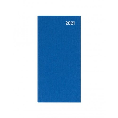 Letts of London Principal Brights Slim Week to View Diary 2020 Blue