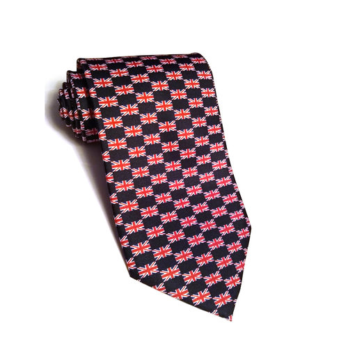 The Tie Studio United Kingdom Flag Tie