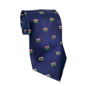The Tie Studio Welsh Dragons All Over Tie