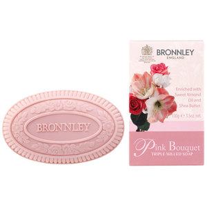 Bronnley Pink bouquet triple milled soap