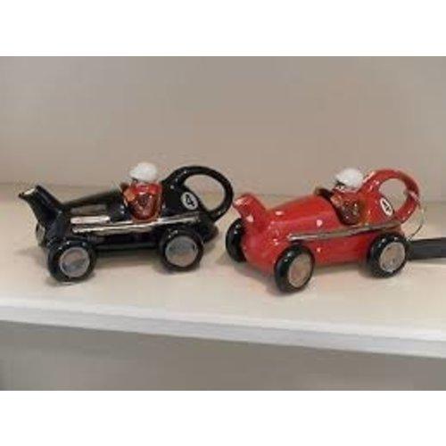 Carters of Suffolk Tony Carter Race Car Teapot - Red