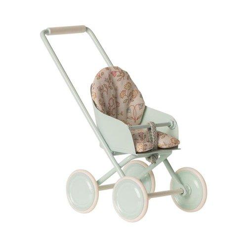 Maileg Maileg Micro Stroller Sky Blue