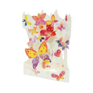 Santoro London Butterfly Cloud Swing Card