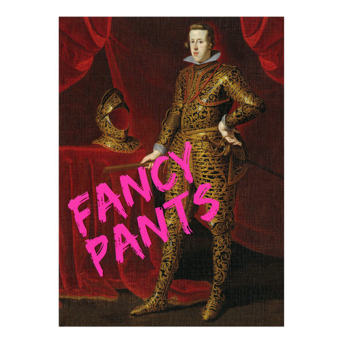 Santoro London Fancy Pants Card