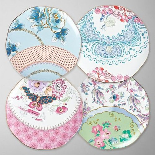 Wedgwood Butterfly Bloom Tea Plate Set of 4