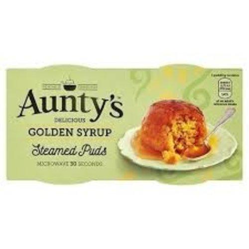 Aunty's Golden Syrup Sponge