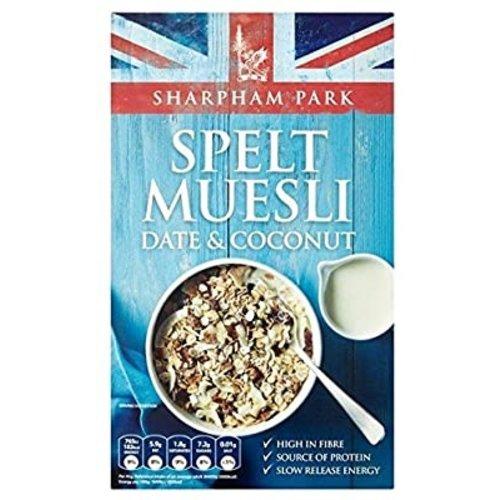 Date & Coconut Spelt Museli