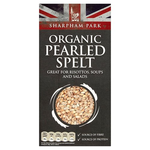 Organic Pearled Spelt