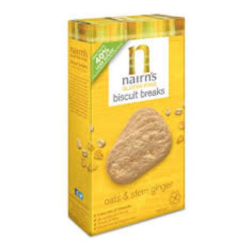 Nairn's Nairns Gluten Free Stem Ginger & Oatmeal Cookies