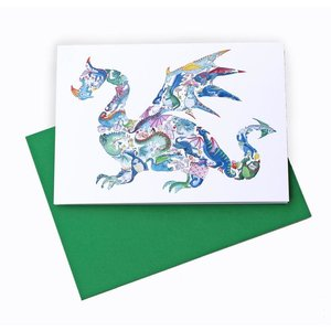 D is for Dragon Greeting Card