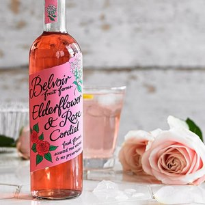 Belvoir Elderflower and Rose Cordial