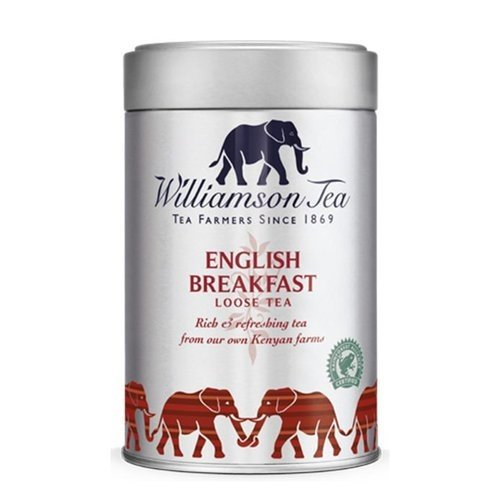 Williamson Tea English Breakfast Rich and Robust Loose Tea