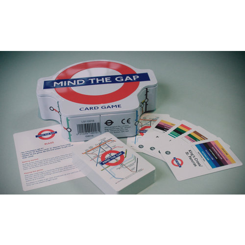 gibson and sons Mind The Gap Card Game
