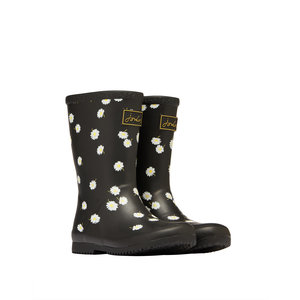 Joules USA Black Daisy Molly Welly