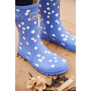 Joules USA Blue Daisy Molly Welly