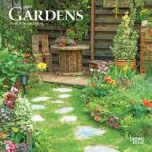 BrownTrout Publishers Gardens 2021 16 Month Mini Calendar