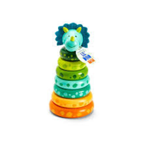 Cupcakes and Cartwheels Lil Dino Stacking Toy