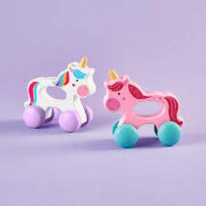 Cupcakes and Cartwheels Rainbow Ride Grasping Unicorn