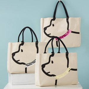 Two's Company My Best Friend  Dog Tote Bag