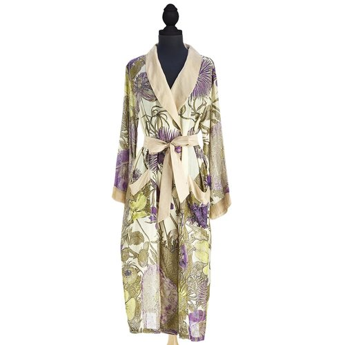 Two's Company One Hundred Stars Thistle Purple Robe Gown