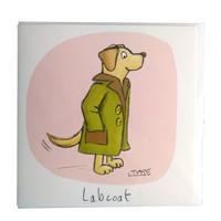 Labcoat Greeting Card