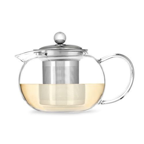 Pinky Up Candace Glass Teapot & Infuser